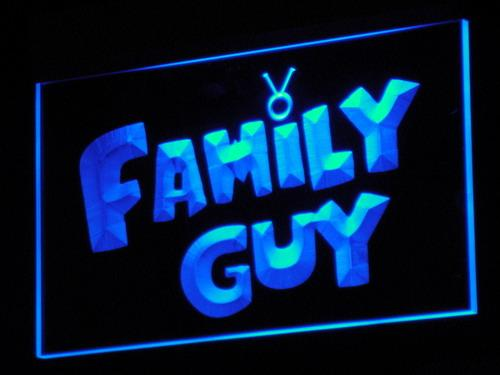 Family Guy Cartoon LED Neon Sign g049 - Blue