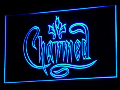 Charmed TV Drama LED Neon Sign g058 - Blue