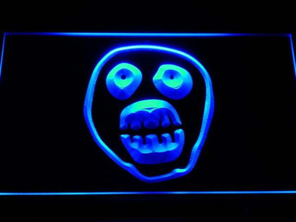 Mighty Boosh Comedy Troupe LED Neon Sign g150 - Blue