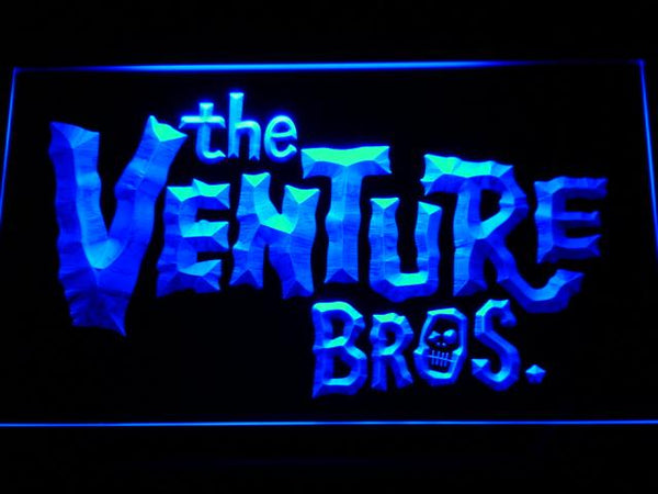 The Venture Bros. TV Shows LED Neon Sign g159 - Blue