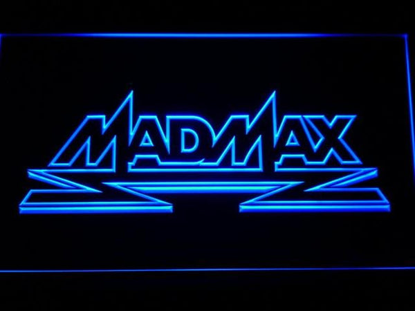 Mad Max Movie LED Neon Sign g167 - Blue
