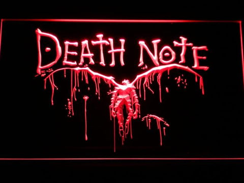 Death Note Ryuk LED Neon Sign g175 - Red