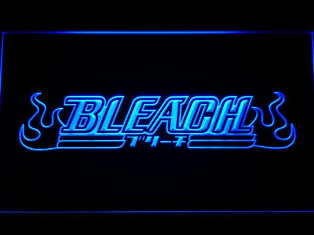 Bleach Anime LED Neon Sign g177 - Blue