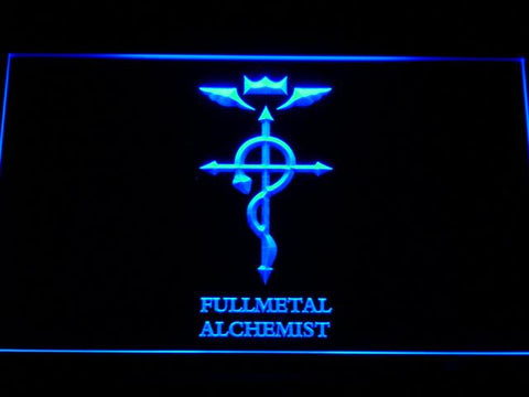 Fullmetal Alchemist Anime LED Neon Sign g181 - Blue