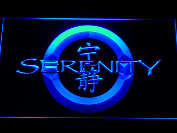 Firefly Serenity TV Shows LED Neon Sign g183 - Blue