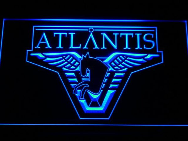 Stargate Atlantis Movie LED Neon Sign g188 - Blue