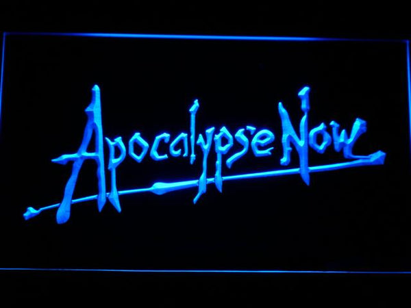 Apocalypse Now Movie LED Neon Sign g198 - Blue