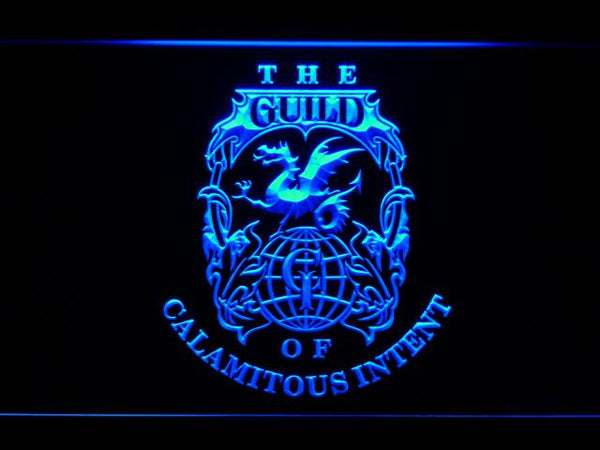 Venture Brothers Guild LED Neon Sign g213 - Blue
