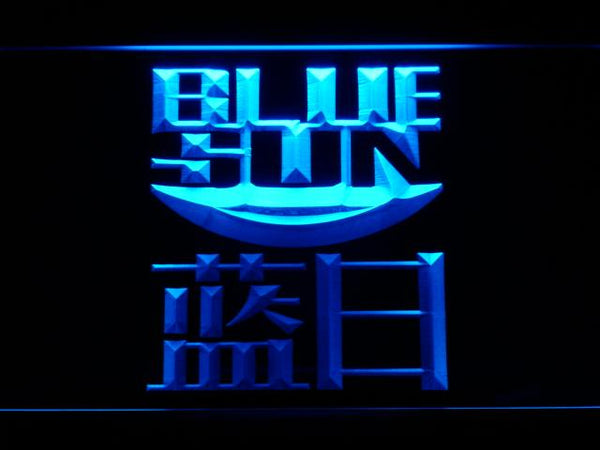 Firefly Serenity Blue Sun LED Neon Sign g231 - Blue