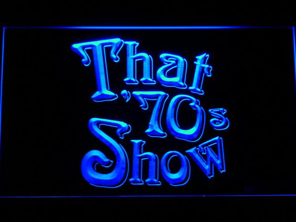 That '70s Show TV Series LED Neon Sign g237 - Blue