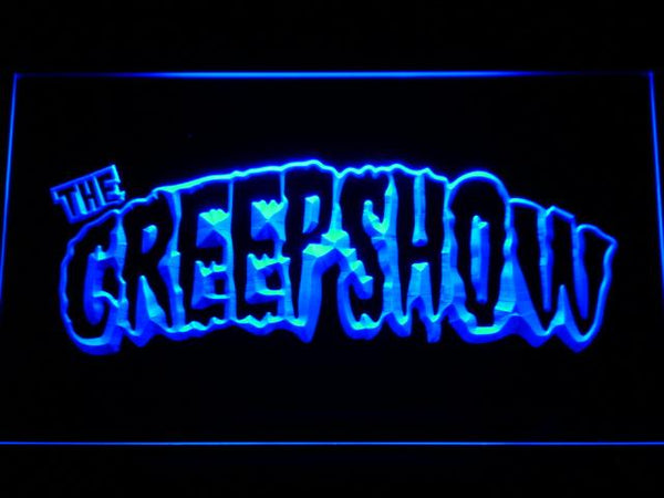 The Creepshow Band LED Neon Sign g252 - Blue