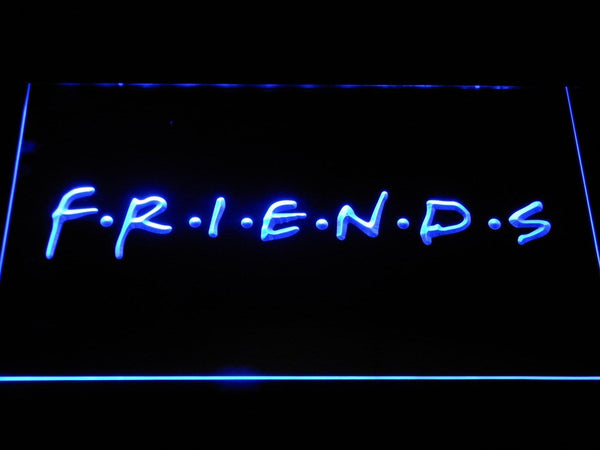 Friends TV Series LED Neon Sign g359 - Blue