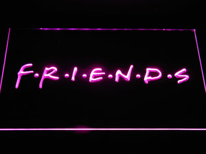 Friends TV Series LED Neon Sign g359 - Purple