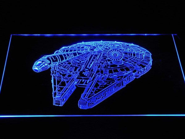 Star Wars Millennium Falcon LED Neon Sign