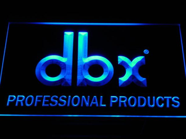 DBX Signal Professional LED Neon Sign k035 - Blue