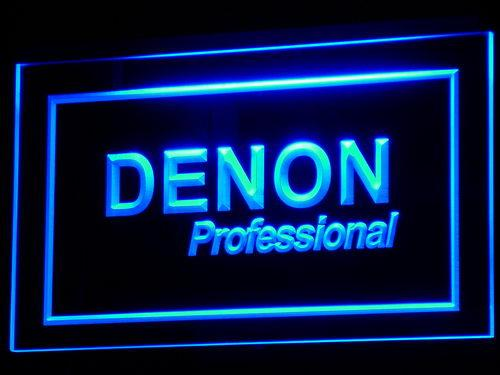 Denon Professional LED Neon Sign k037 - Blue