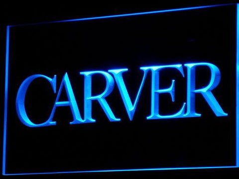 Carver Sound LED Neon Sign k144 - Blue
