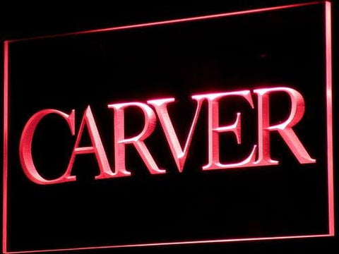 Carver Sound LED Neon Sign k144 - Red