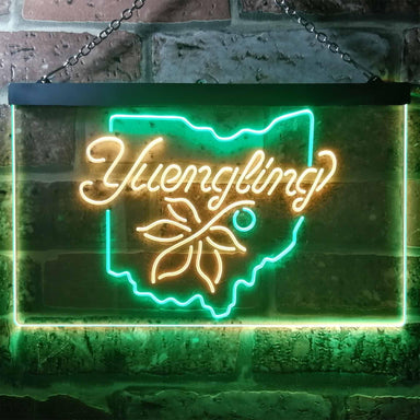 Yuengling Ohio State Buckeye Larger Beer Novelty LED Neon Sign-led sign-ZignSign - More than a sign