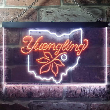 Yuengling Ohio State Buckeye Larger Beer Novelty LED Neon Sign