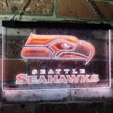 Seattle Seahawks Football Bar Decoration Gift Dual Color Led Neon Sign b0242-led sign-ZignSign - More than a sign
