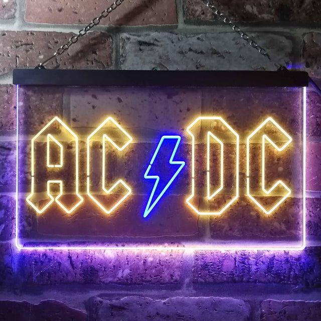 ACDC Band Music Novelty LED Neon Sign