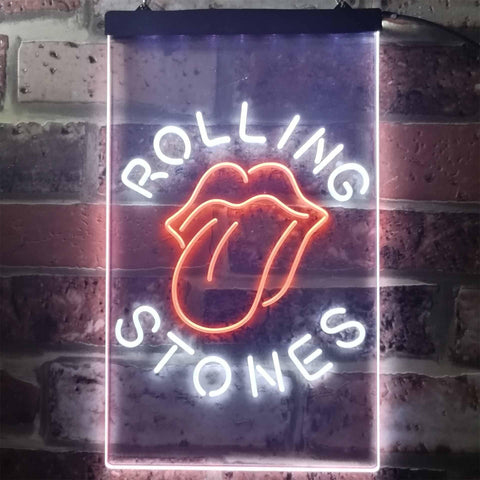 Rolling Stone Music Bar Club Novelty LED Neon Sign