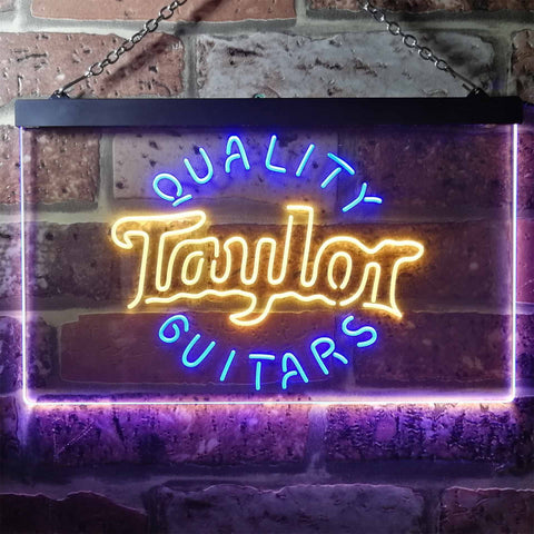 Taylor Guitar Music Novelty LED Neon Sign