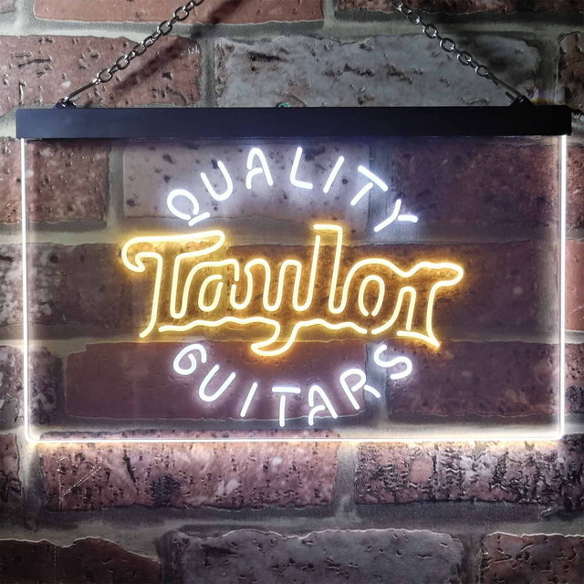 Taylor Guitar Music Novelty LED Neon Sign-led sign-ZignSign - More than a sign
