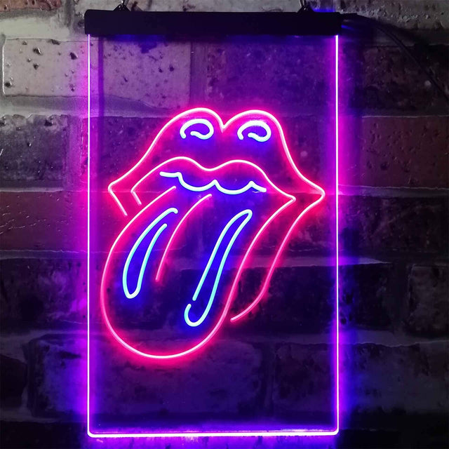 Rolling Stones Tongue Novelty LED Neon Sign-led sign-ZignSign - More than a sign