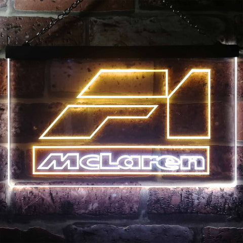 Mclaren F1 Car Novelty LED Neon Sign