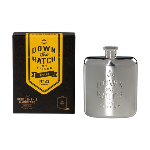 Gentlemen's Hardware 'Down The Hatch' Hip Flask