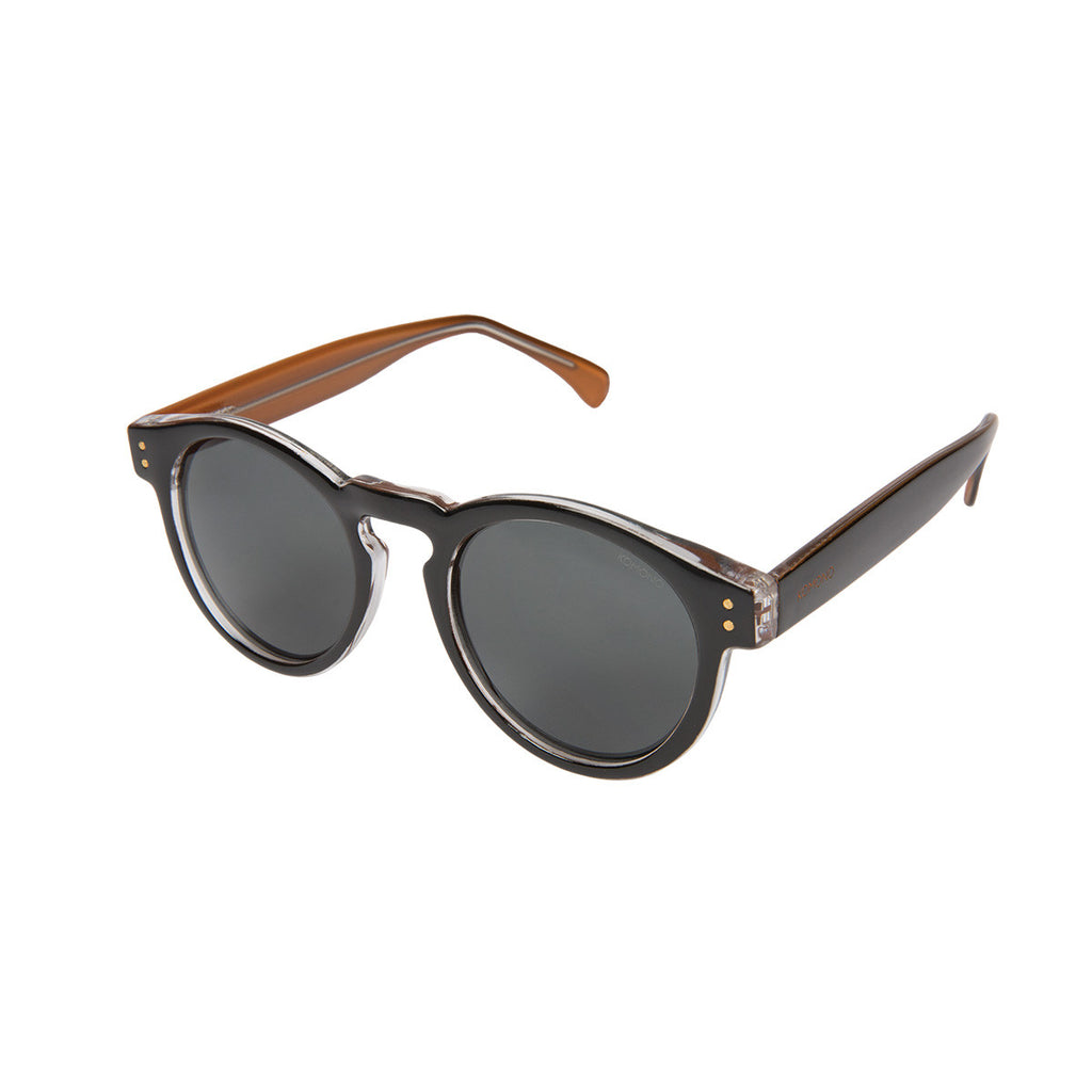 Komono Clement Sunglasses: Black Apricot