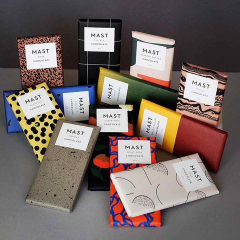 Mast Sea Salt Dark Chocolate Bar