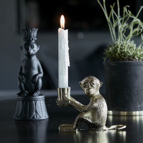 Gold Monkey Candlestick