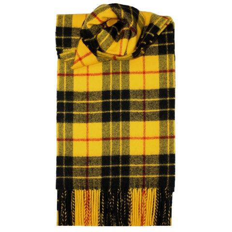 Lochcarron Lambswool Scarf: MacLeod Dress Modern Tartan