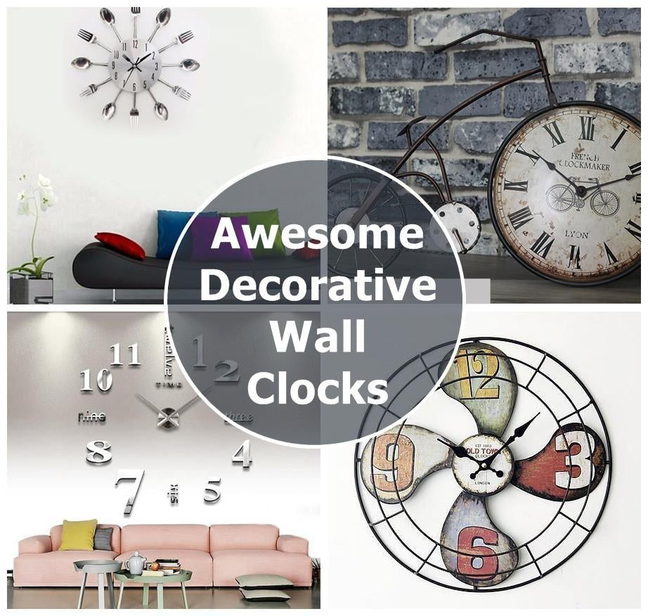 10 Awesome, Decorative & Functional, Modern Wall Clocks