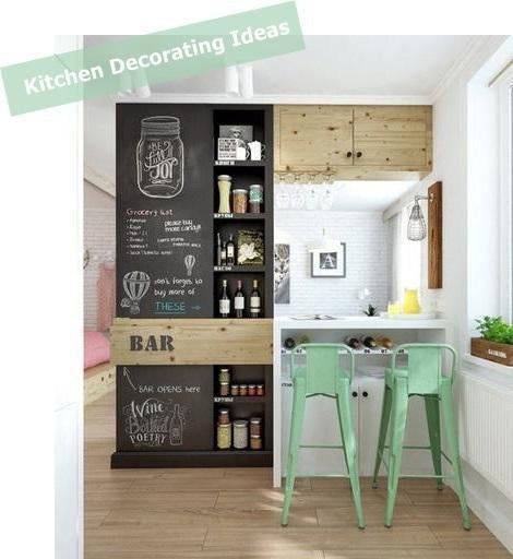 Kitchen Decorating Ideas - Unique kitchen and cafe decor accessories and wall hangings