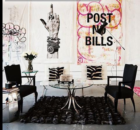 Rock n' Roll Home Decor Ideas and Where to Find Rocker Chic Home Accessories Online