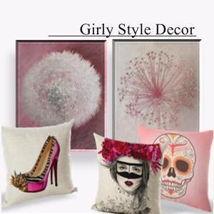 Girly Style Home Decor-Shop Unique Home Decor on Sale