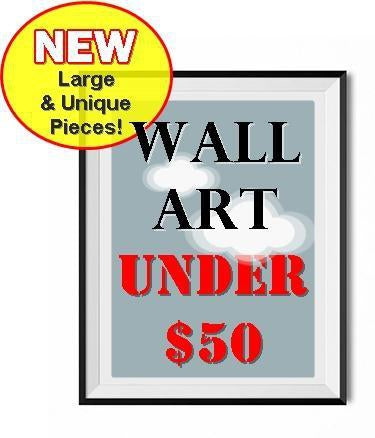 Wall Art Under $50-Shop Unique Home Decor on Sale