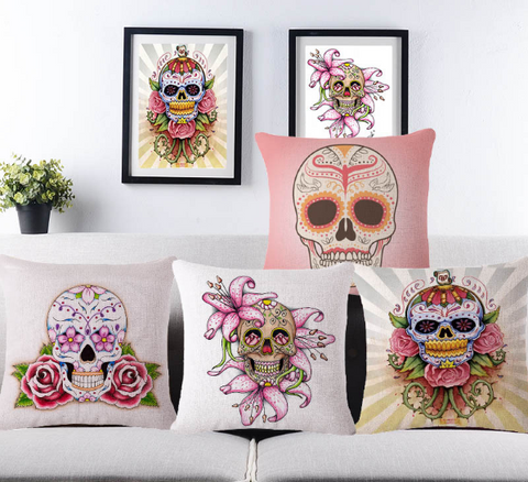 Skulls Home Decor Theme-Shop Unique Home Decor on Sale