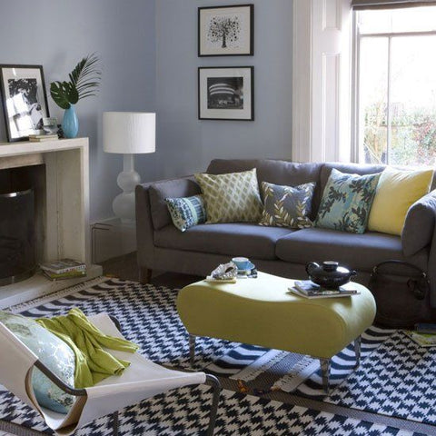 Modern Home Decor with Yellow Accessories
