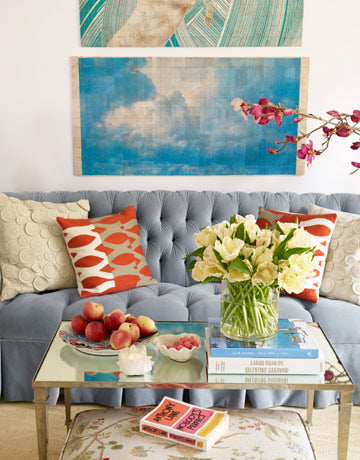 Apartment Wall Decor and Accent Color Accessories