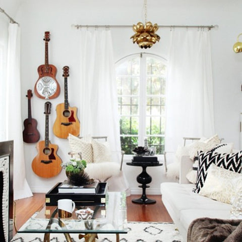 Rock N 39 Roll Home Decor Ideas And Where To Find Rocker Chic Home Accessories Online