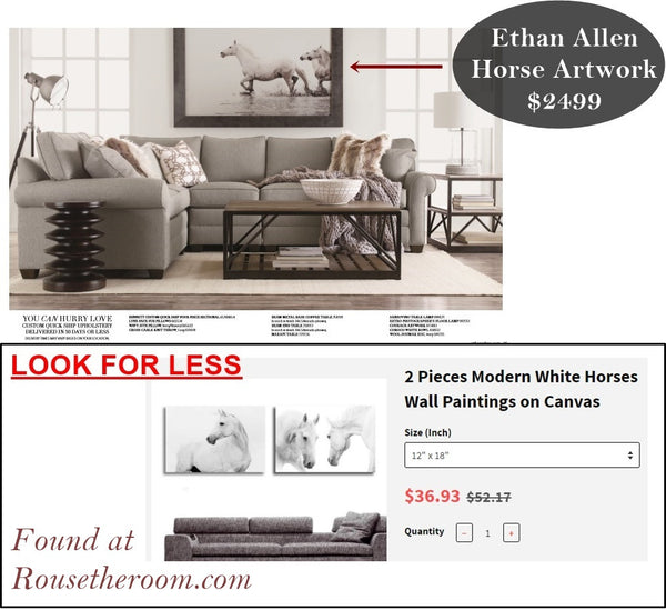 Ethan Allen home decor goods sale
