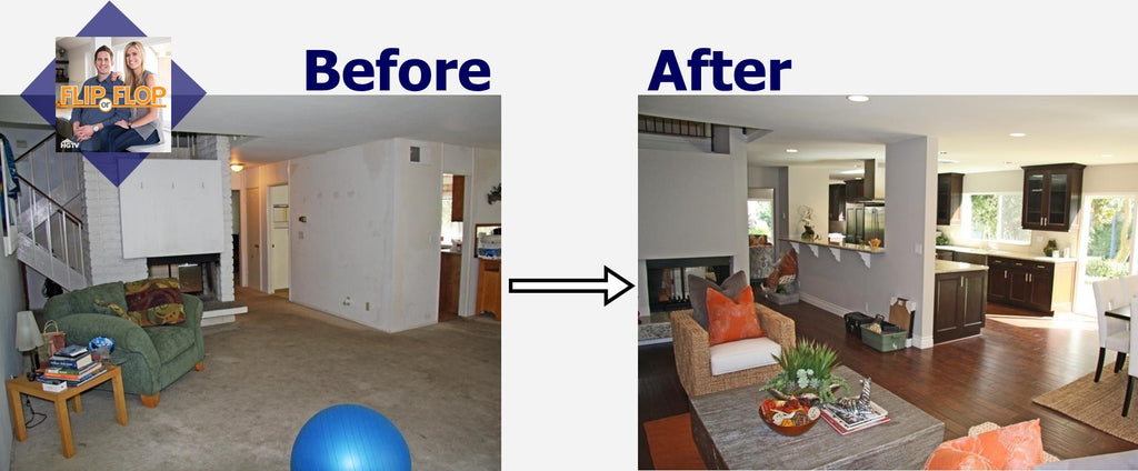 Flip or flop show home decor for House flips before and after