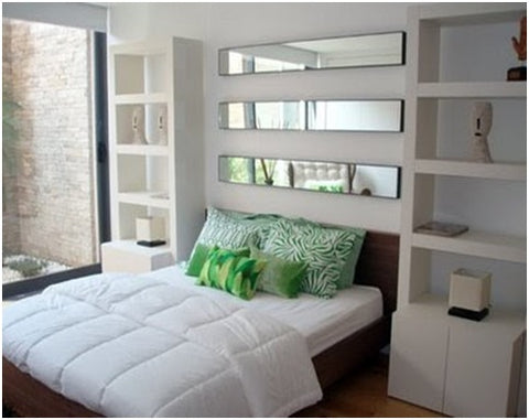 Use of Mirrors in Small Bedroom