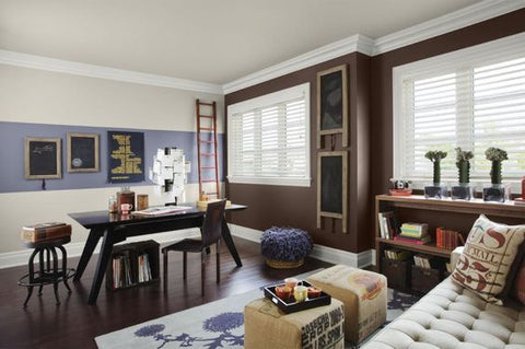 decor ideas for dark brown living room