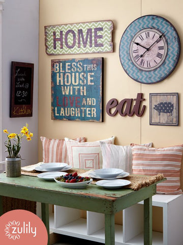 kitchen wall decor, vintage kitchen signs